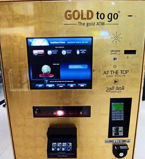 Hay cajeros que en vez de expender dinero dan oro / Scoop Whoop
