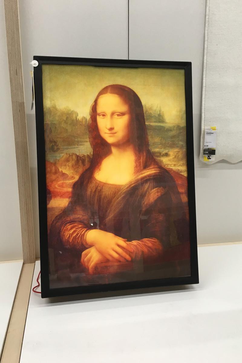 Cuadro Mona Lisa: 49 euros