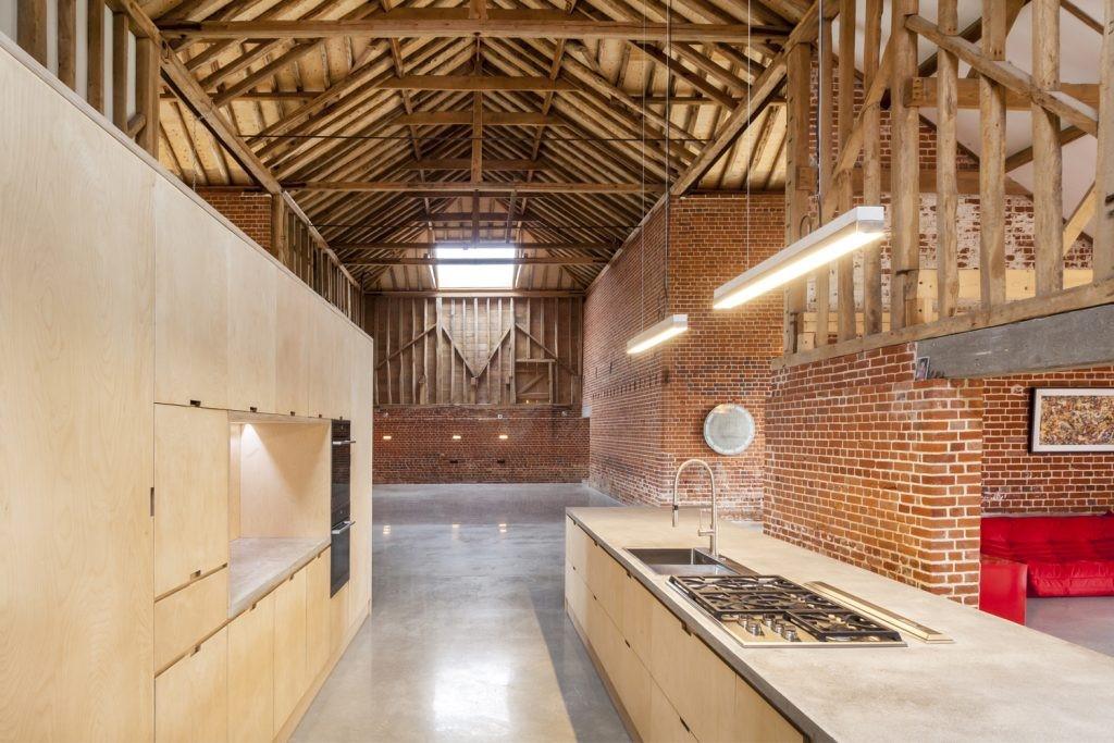 Es del estudio David Nossiter Architects