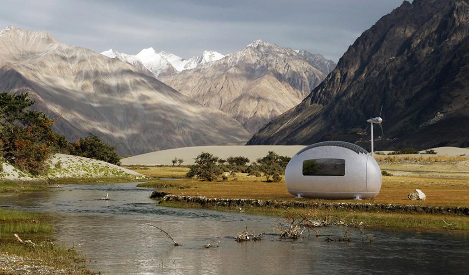 Casas-cápsula para vivir en cualquier parte del mundo