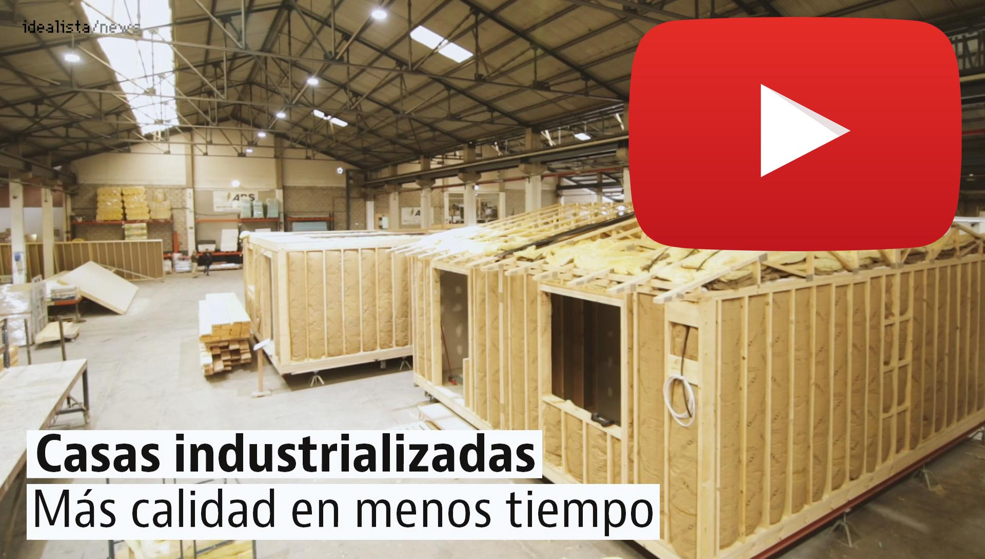 Bienvenido a la fábrica de casas: así se construyen las viviendas prefabricadas