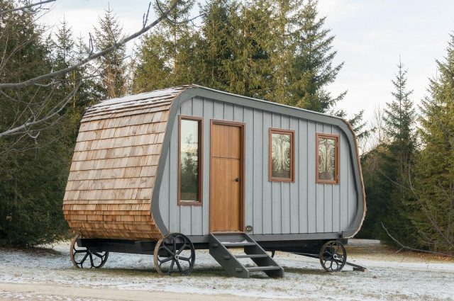 Flotantes, prefabricadas o con forma de cápsula: las mejores casas nómadas del mundo