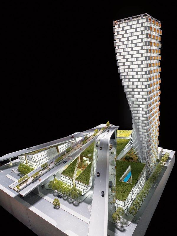 Ideado por el arquitecto Bjarke Ingels