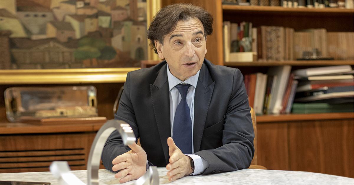 Alfredo Sanz, presidente del Consejo General de la Arquitectura Técnica (CGATE)