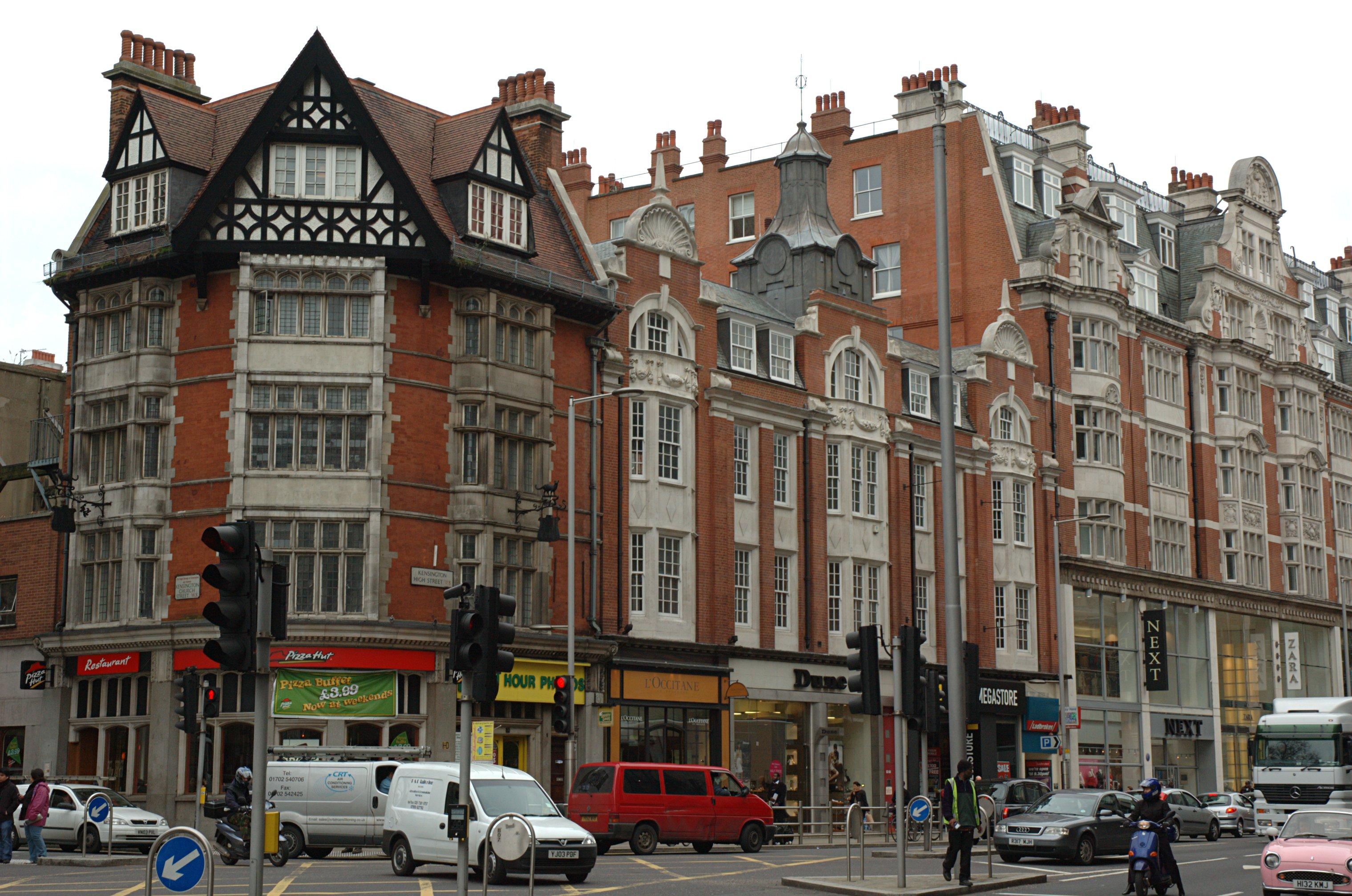 Calles de Kensington &Chelsea / Wikimedia Commons