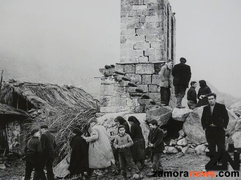 El antiguo campanario en el que se refugiaron los supervivientes / Zamora News