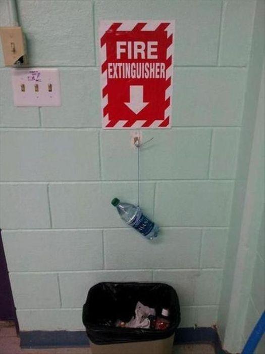Un extintor potente
