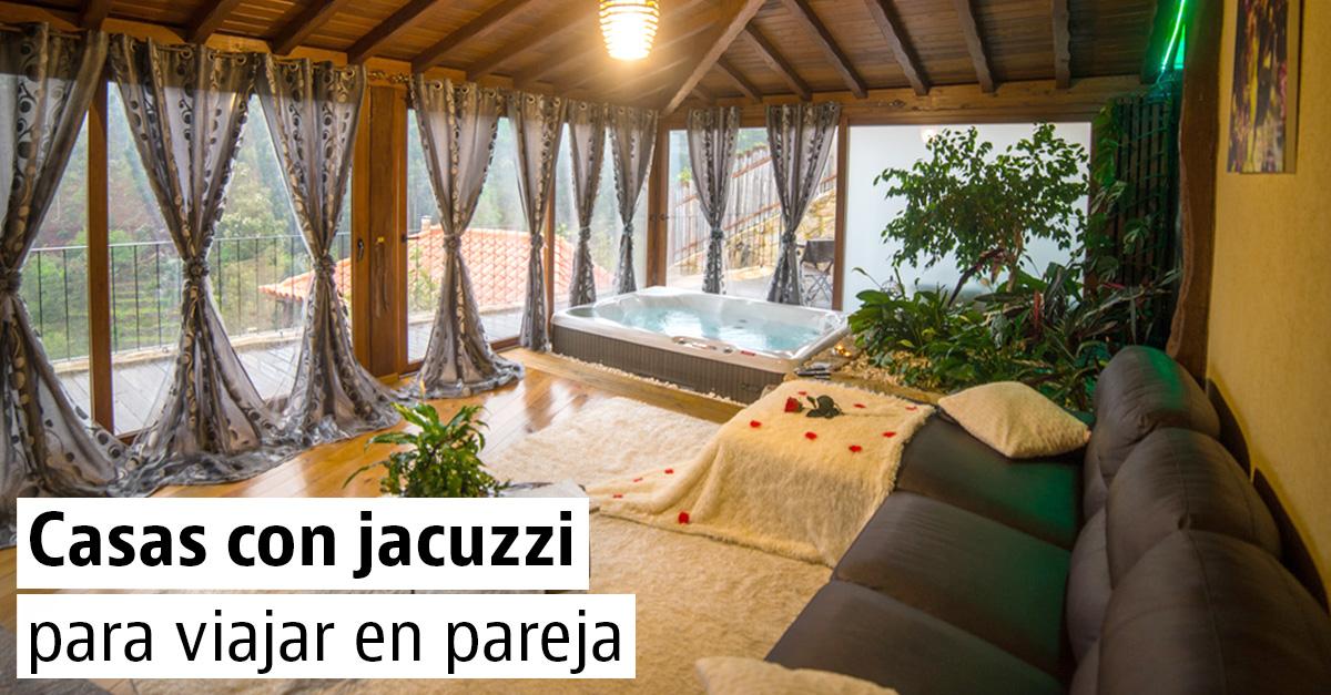 Casas con jacuzzi libres para el Día de San Valentín