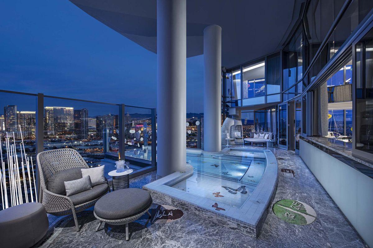 La suite cuesta 89.000 euros por noche / Bloomberg