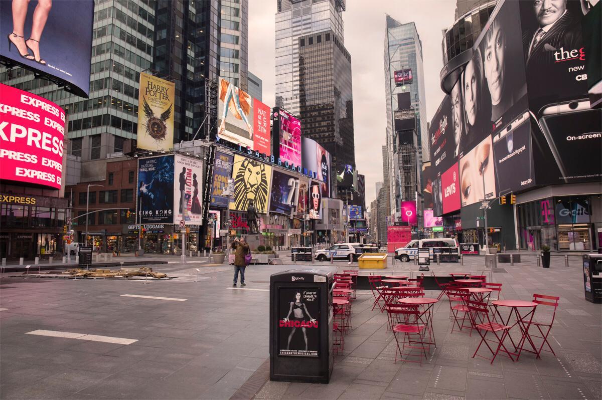 Times Square vacío / Ignacio Pereira