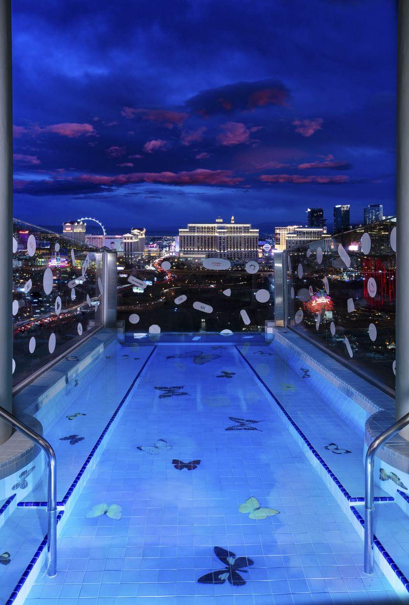 La piscina personalizada posee unas vistas espectaculares / Bloomberg
