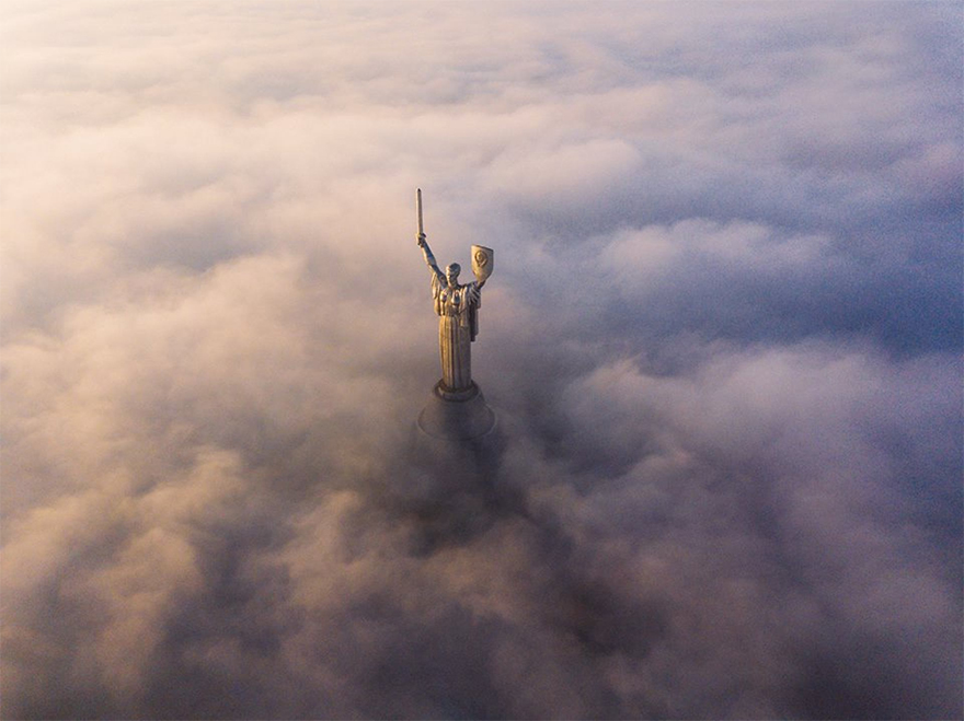 """Kyiv Monuments"" / SkyPixel"