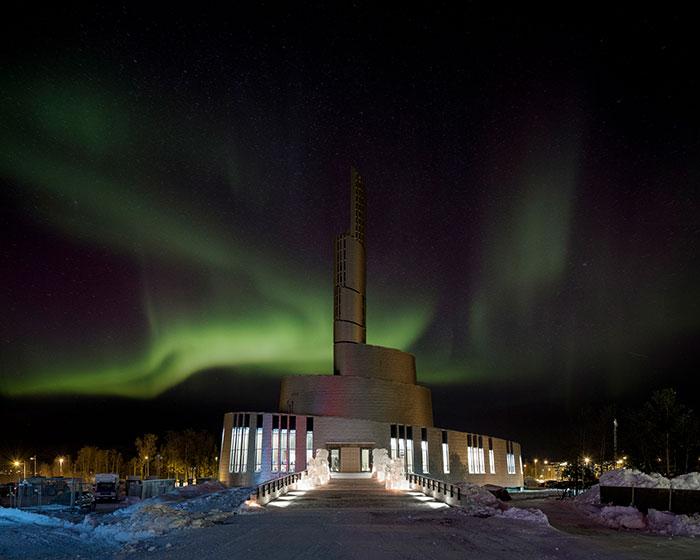 Catedral de las Luces del Norte, Noruega