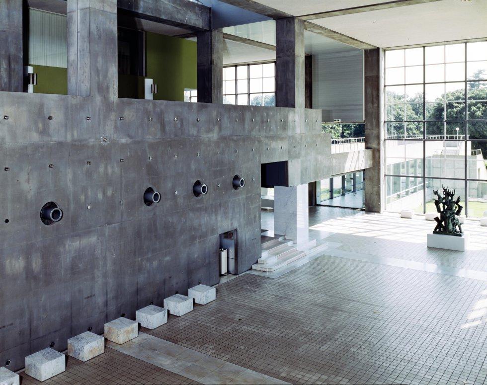 Entrada del Museo de Arte Moderno de Gunma, Japón / YASHUHIRO ISHIMOTO