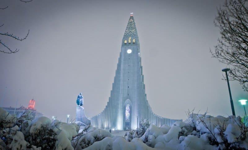 Iglesia de Hallgrímur, Islandia