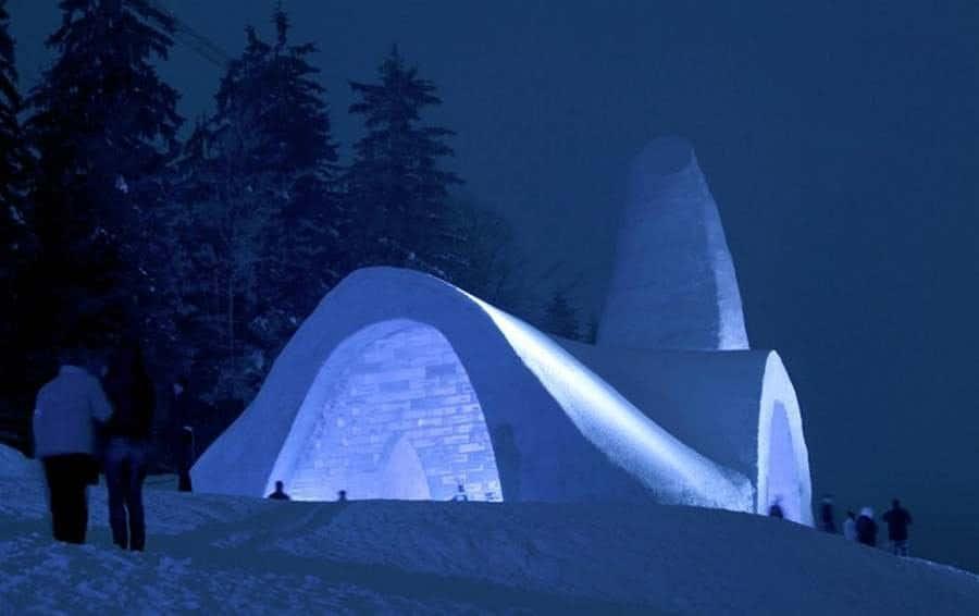 Iglesia de Nieve, Alemania