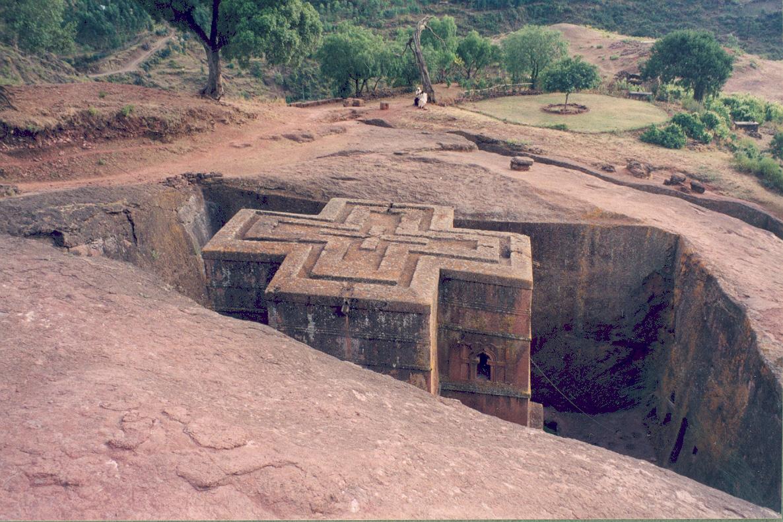Iglesias talladas en roca, Etiopía