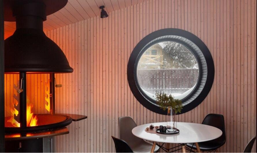 Se puede utilizar como sauna, cafetería, vivienda, etc. / Ekaterina Titenko