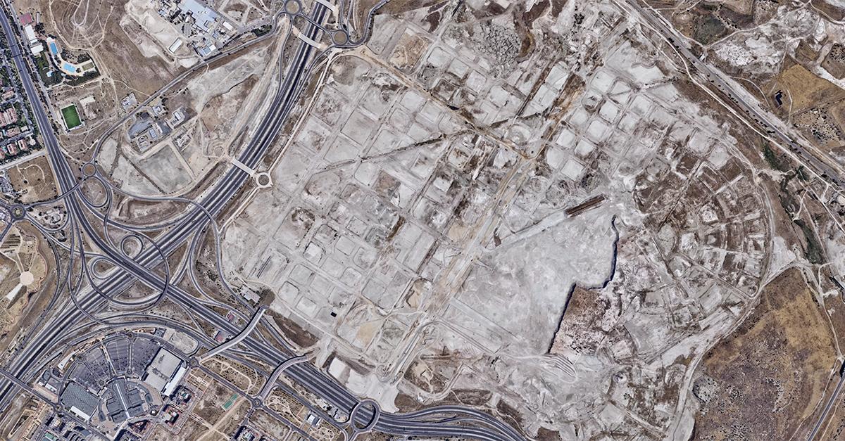 Ámbito de Los Berrocales, Madrid / Google Maps