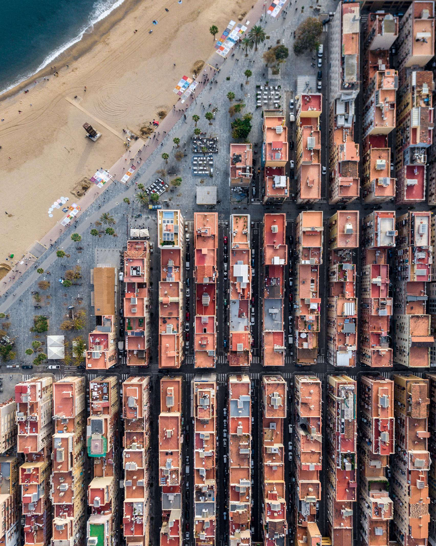 Barcelona se caracteriza por una arquitectura muy organizada / Márton Mogyorósy