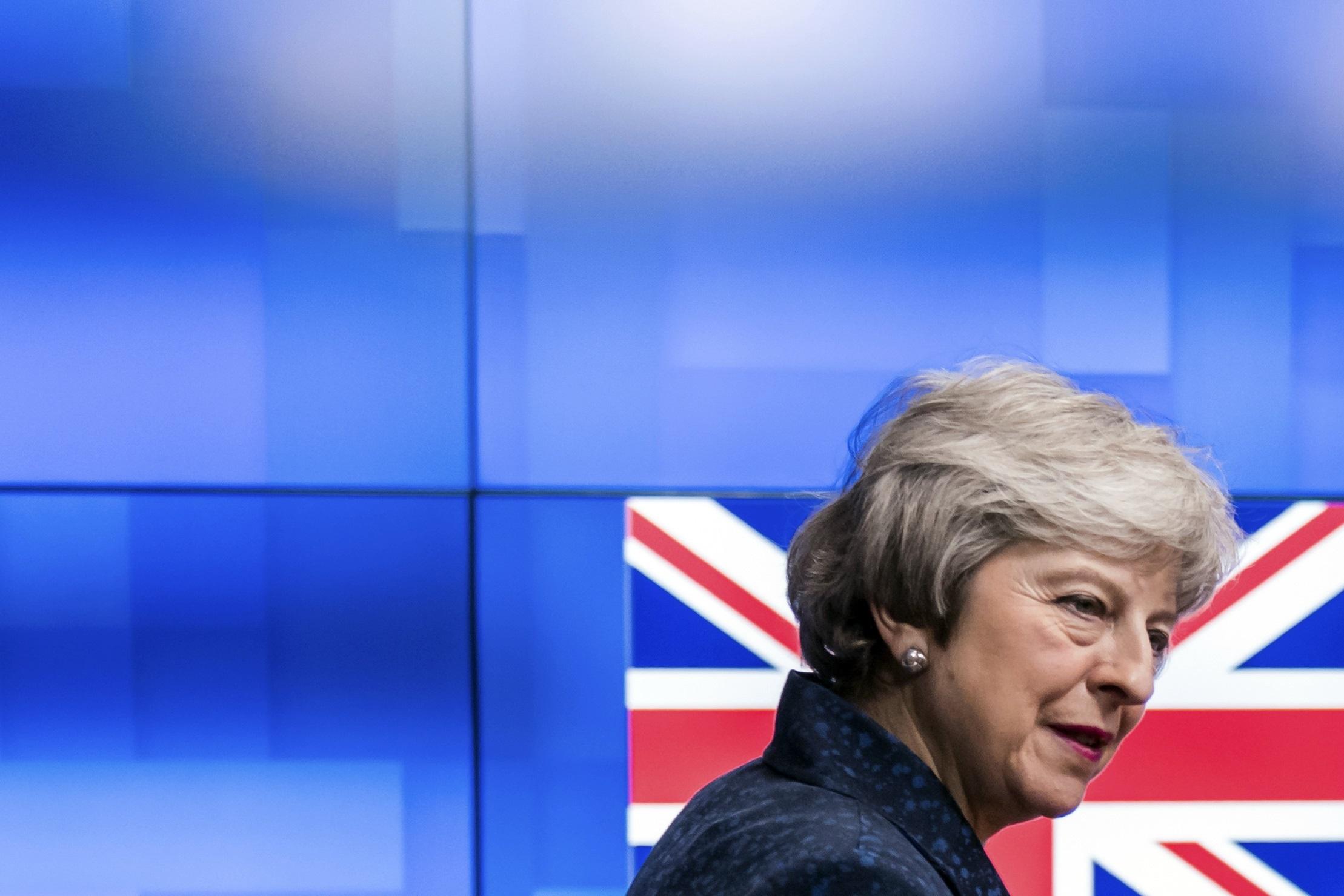 Theresa May, primera ministra de Reino Unido / Gtres