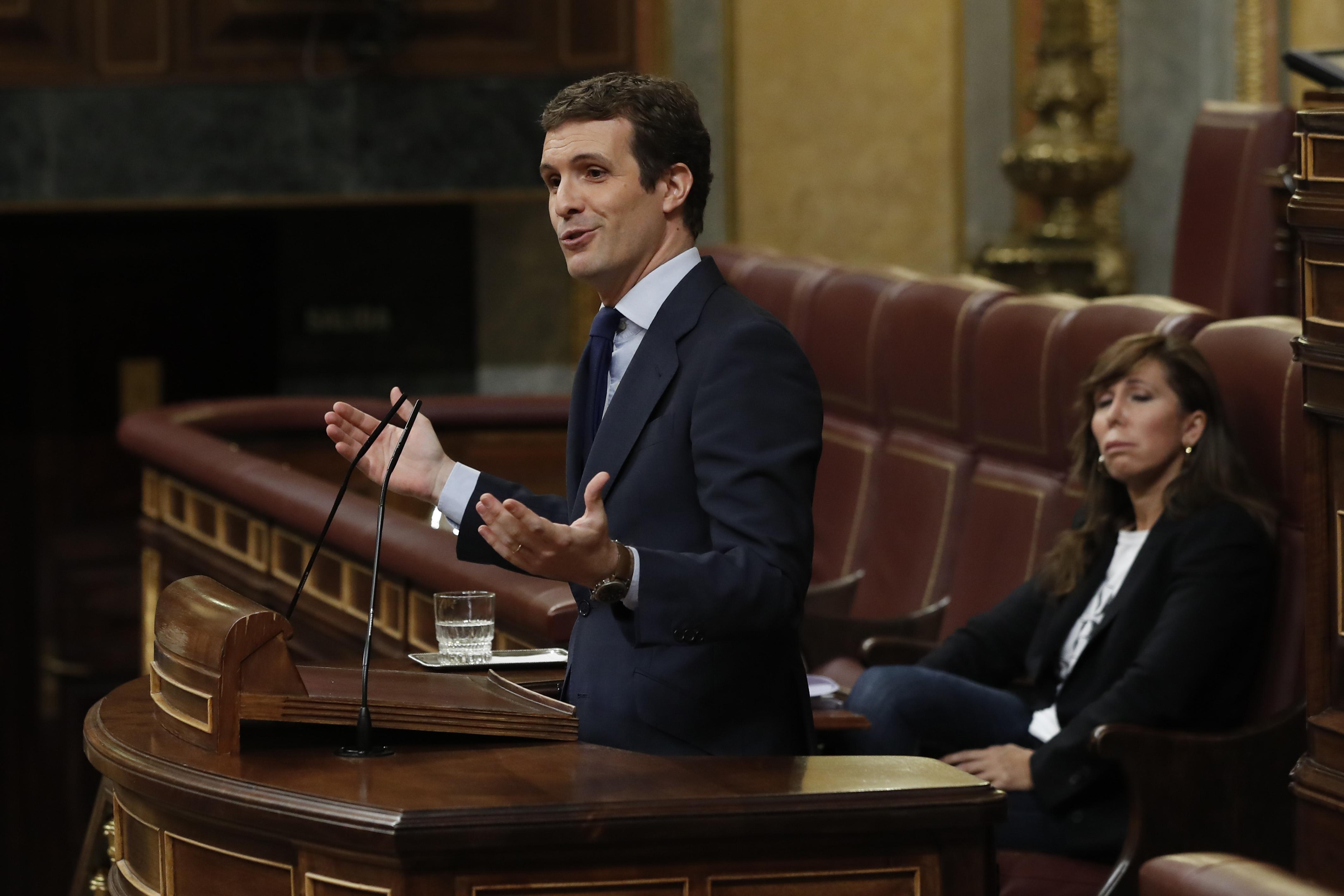 Pablo Casado, presidente del PP / Gtres