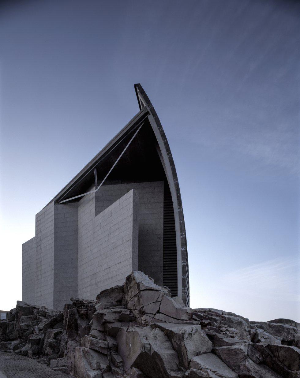 Edificio del Museo La Domus, A Coruña / HISAO SUZUKI