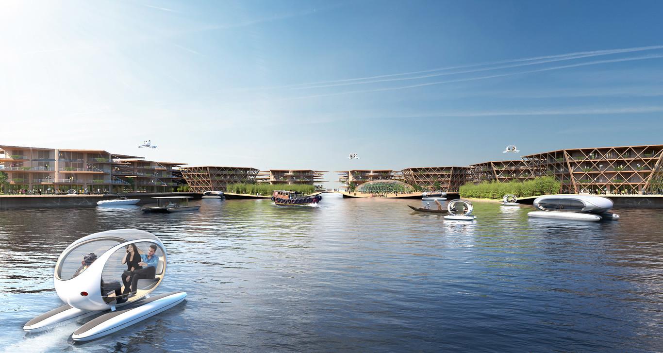 La ONU encargó el diseño ante la inminente subida del nivel del mar / Oceanix City