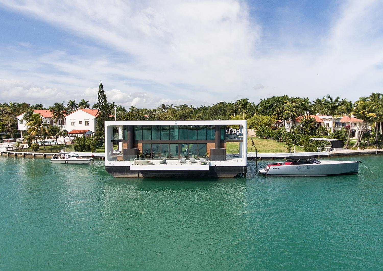La casa-yate parada en Miami / Arkup