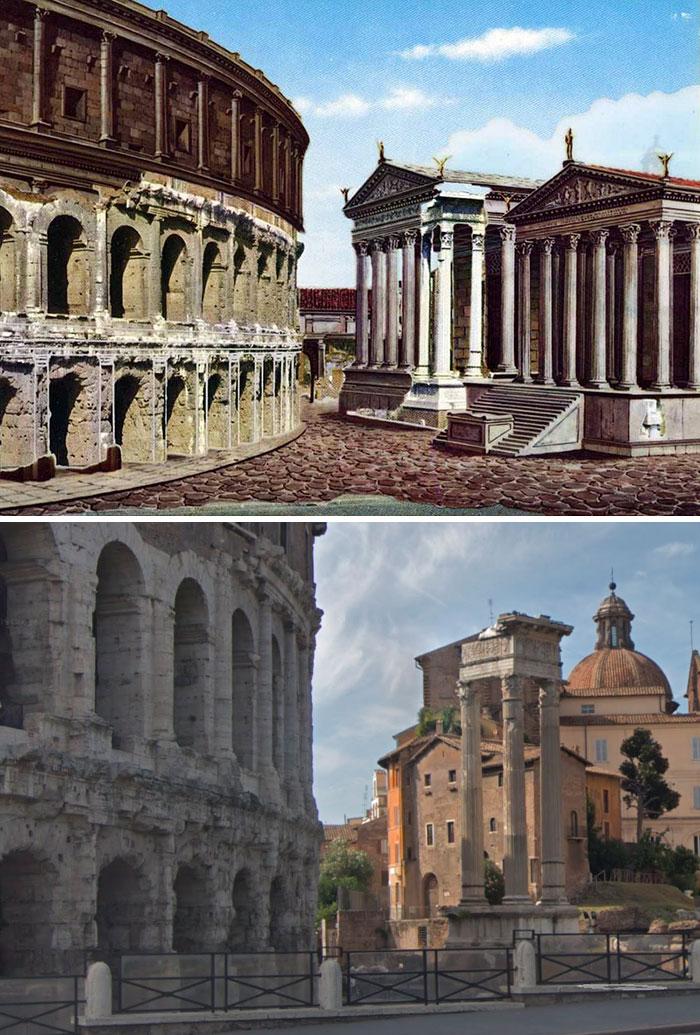 Restos del Templo de Apolo Sosiano