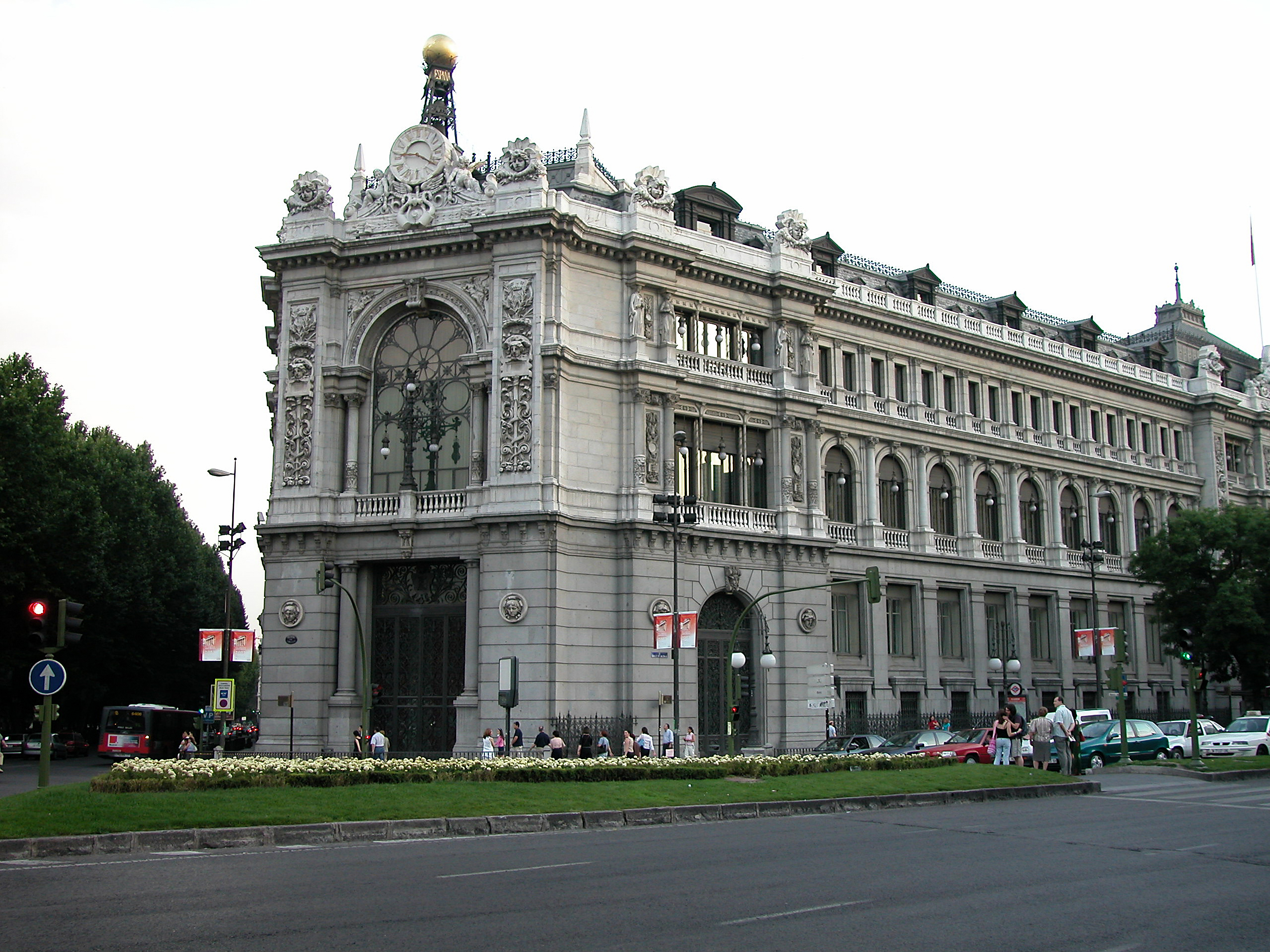 Sede central del Banco de España en Madrid / Gtres