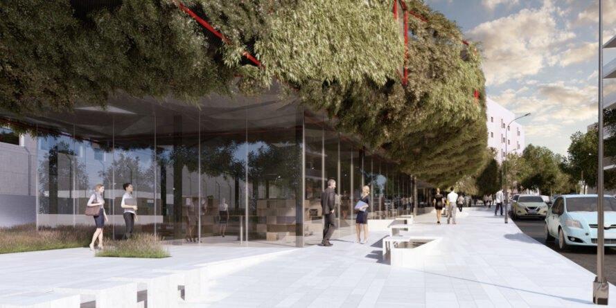 La vegetación del edificio ayudará a mantener el calor en invierno y a enfriar los espacios en verano,