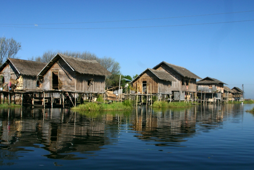 Palafitos de Birmania / Wikimedia Commons