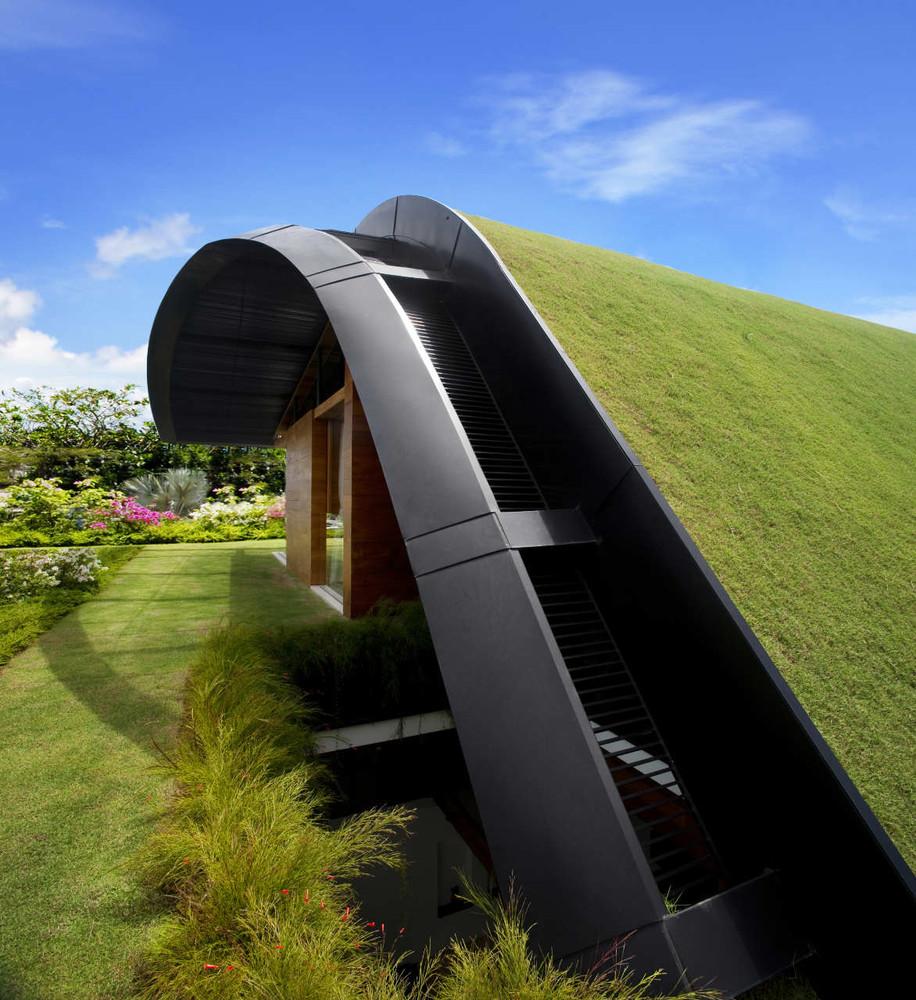 Detalle del tejado / Patrick Bingham Hall