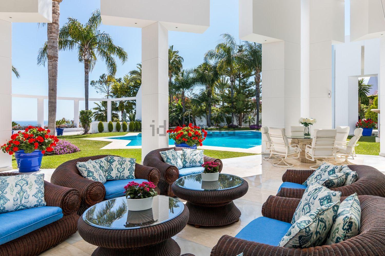 ¿Te imaginas descansar en esta terraza?
