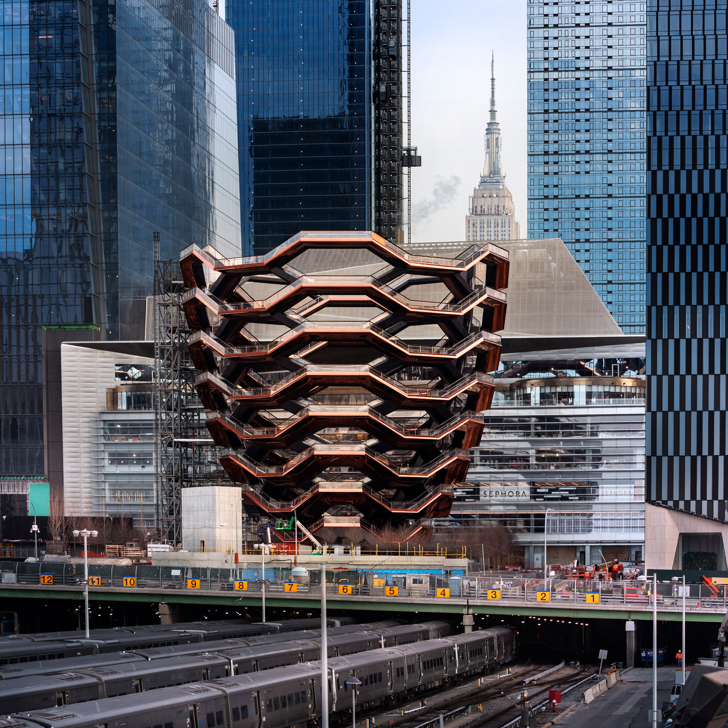 The Vessel en High Line Park / Dezeen