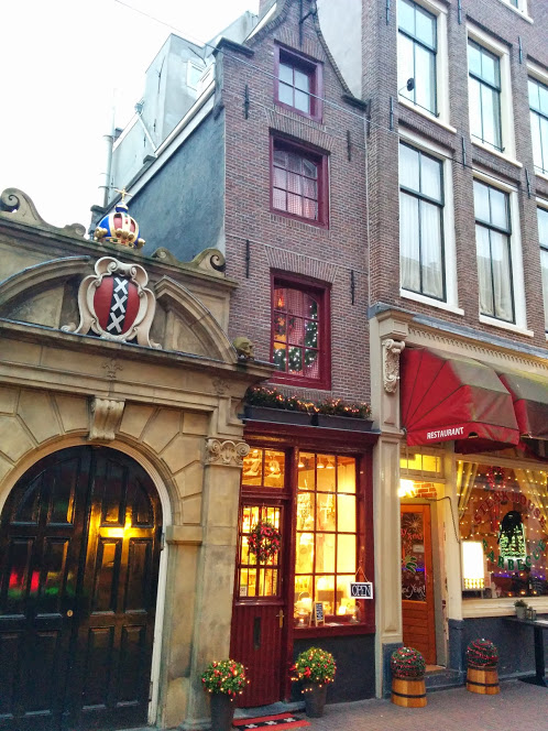 Foto: The smallest house of Amsterdam