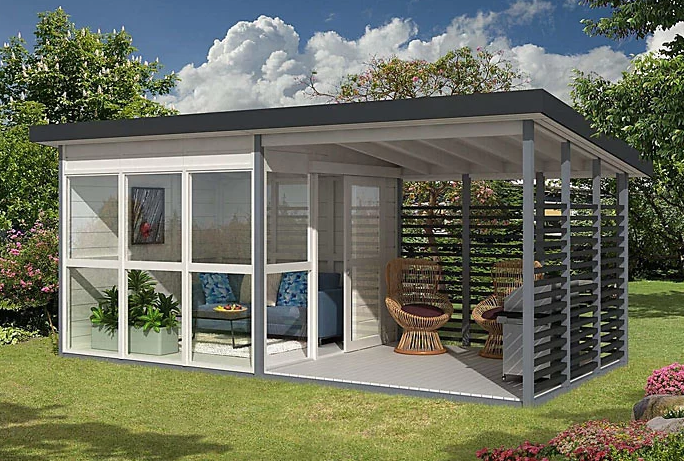 Puede ser una casa de huéspedes, una oficina en el hogaro incluso un local comercial / Amazon