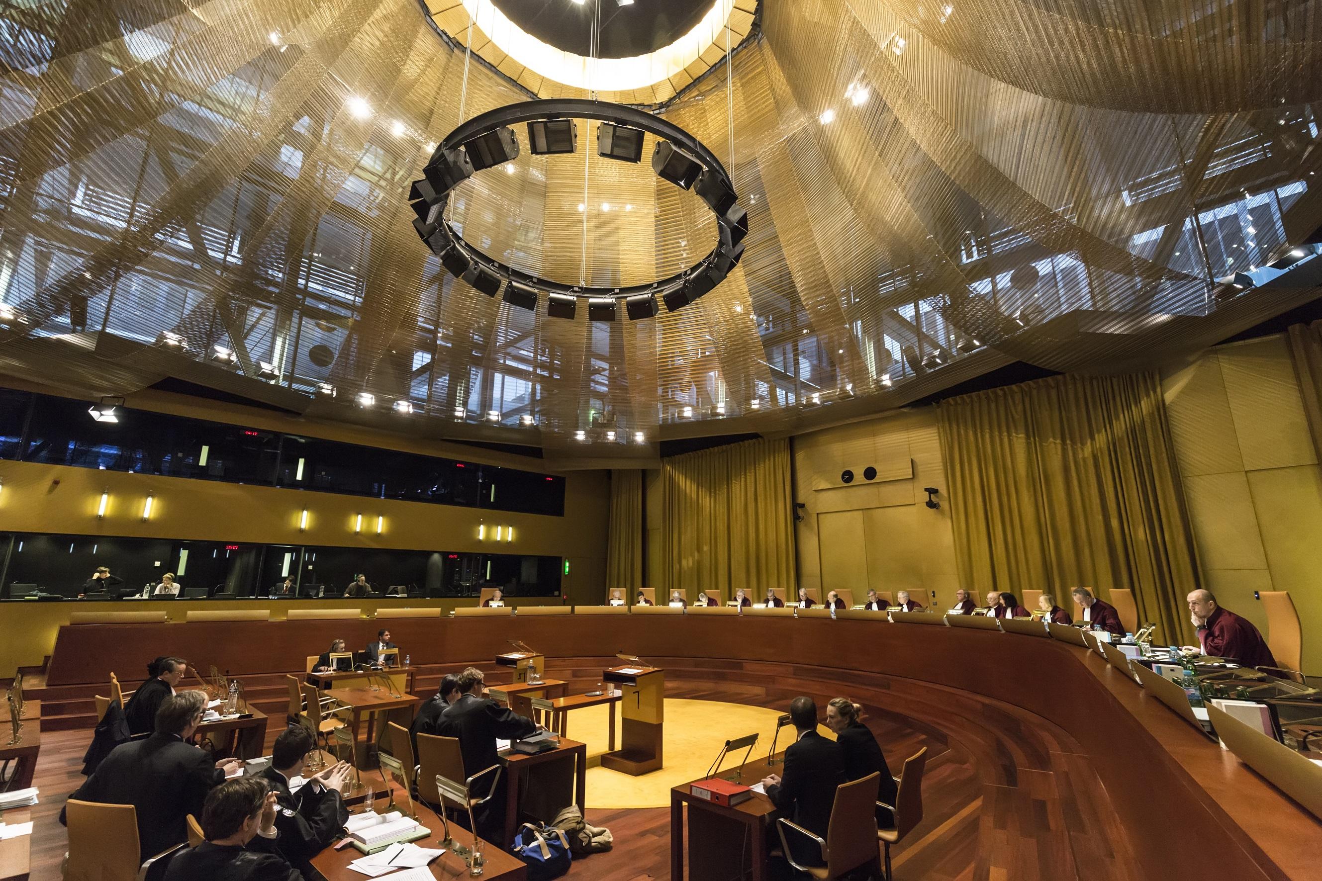 Sede del Tribunal de Justicia de la Unión Europea (TJUE)