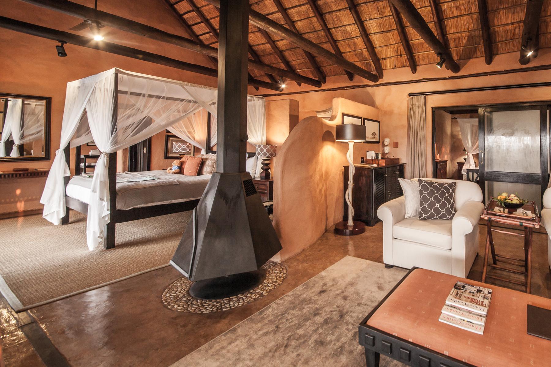 Este alojamiento consta de seiscabañas / Garonga Safari Camp