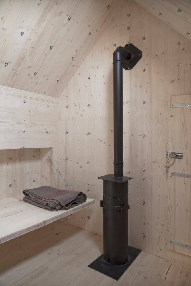Es de madera recubierta de hormigón / DYLAN PERRENOUD