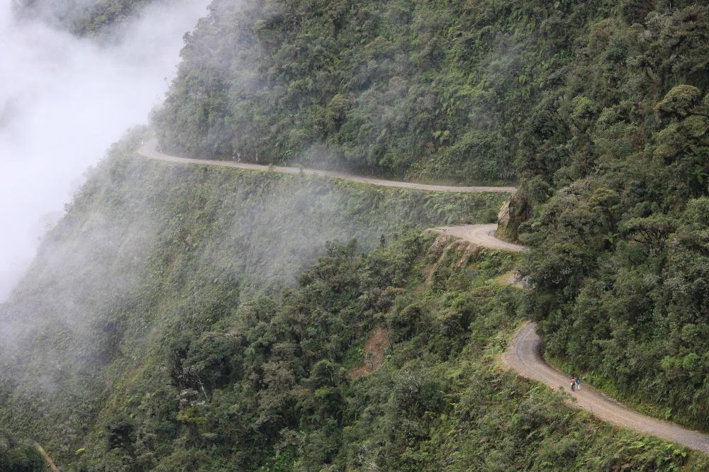 Camino a los Yungas, Bolivia