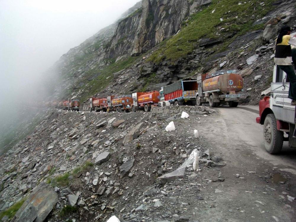 Carretera Leh Manalí, India