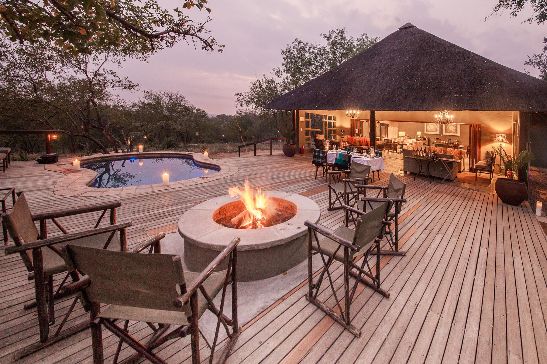 El hotel emana un aire único / Garonga Safari Camp