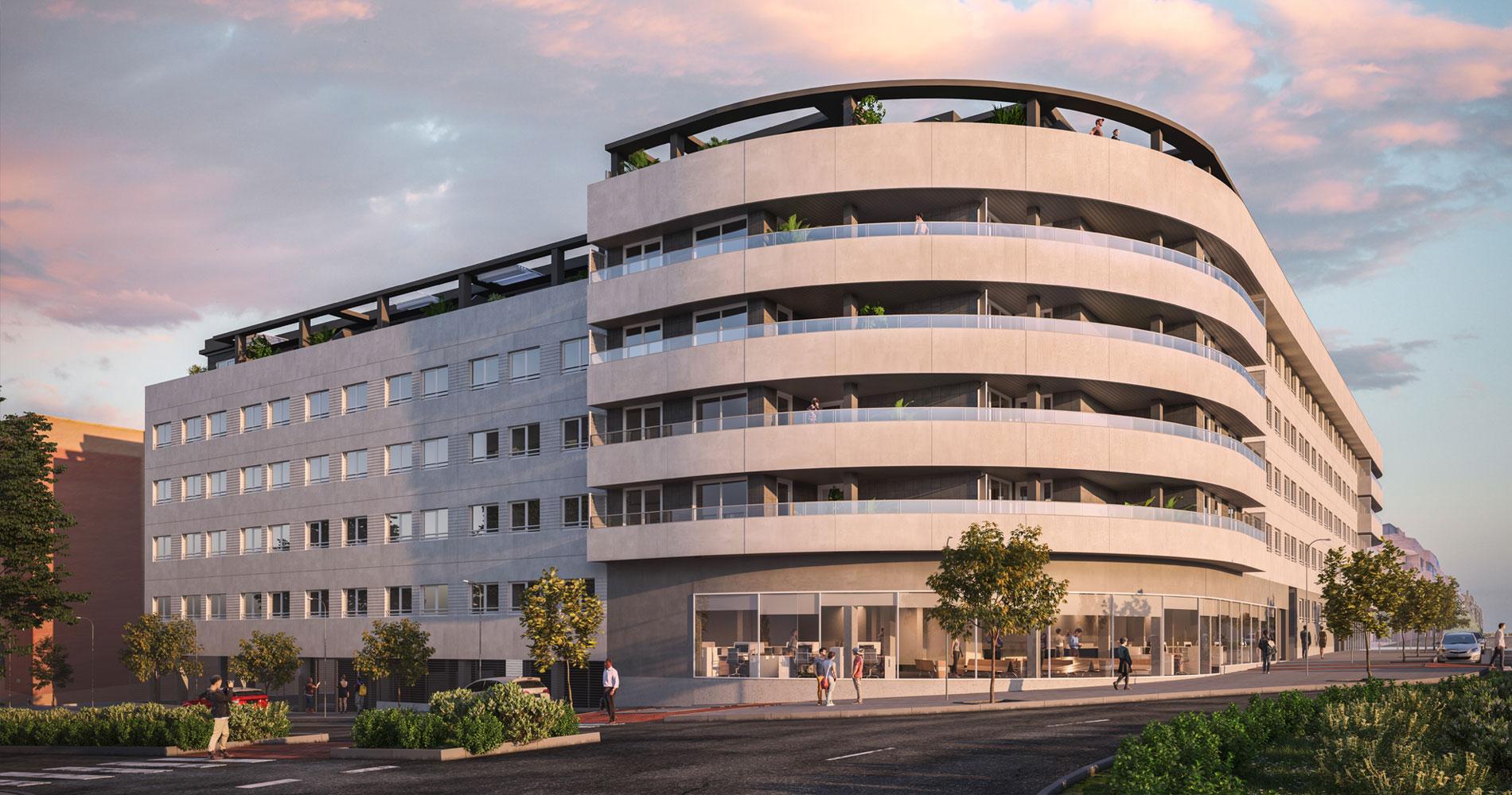 Residencial Passivhaus en Valdemoro / Grupo LOBE