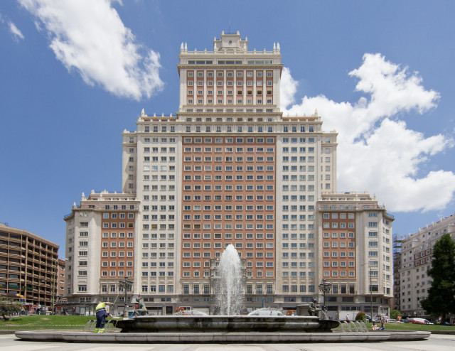 Fachada del Edificio España