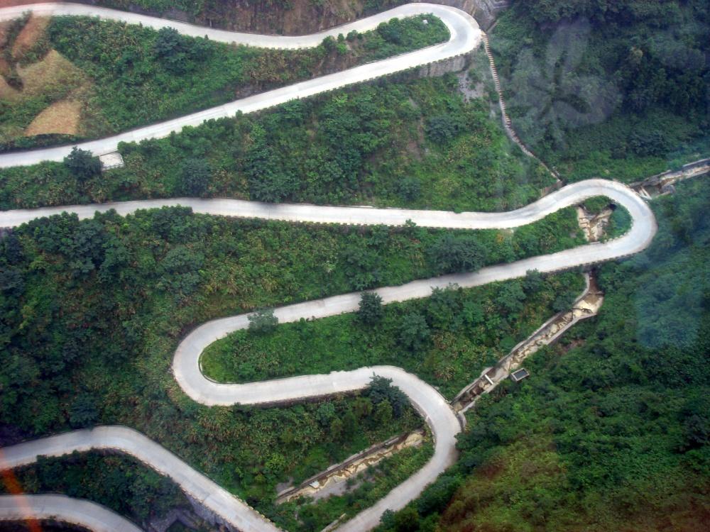 Camino al cielo, China