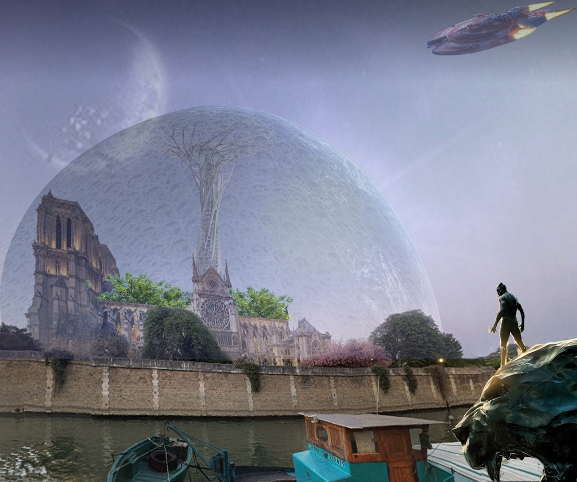 Una burbuja futurista / Bored Panda