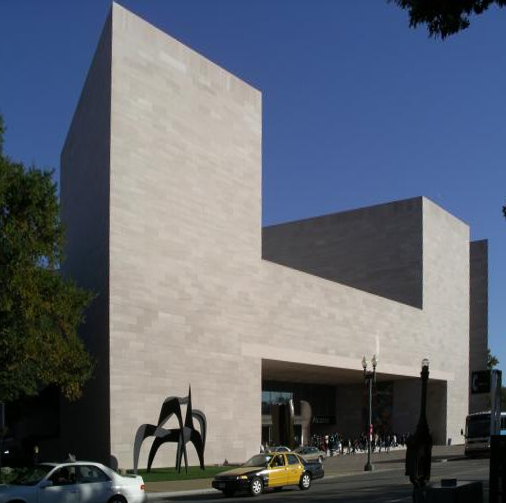 Edificio Este, Galería Nacional de Arte de Washington