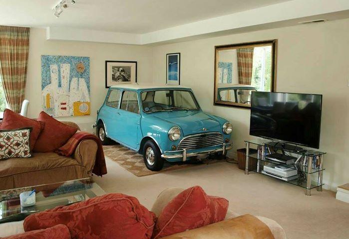 Si no tienes garaje, el salón es una buena opción